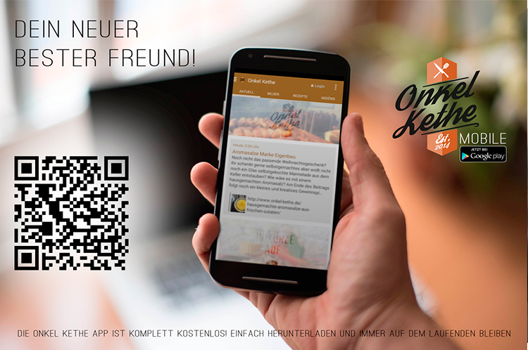 Onkel Kethe App auf Android