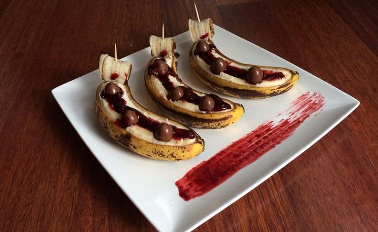 Schokoladen Banane