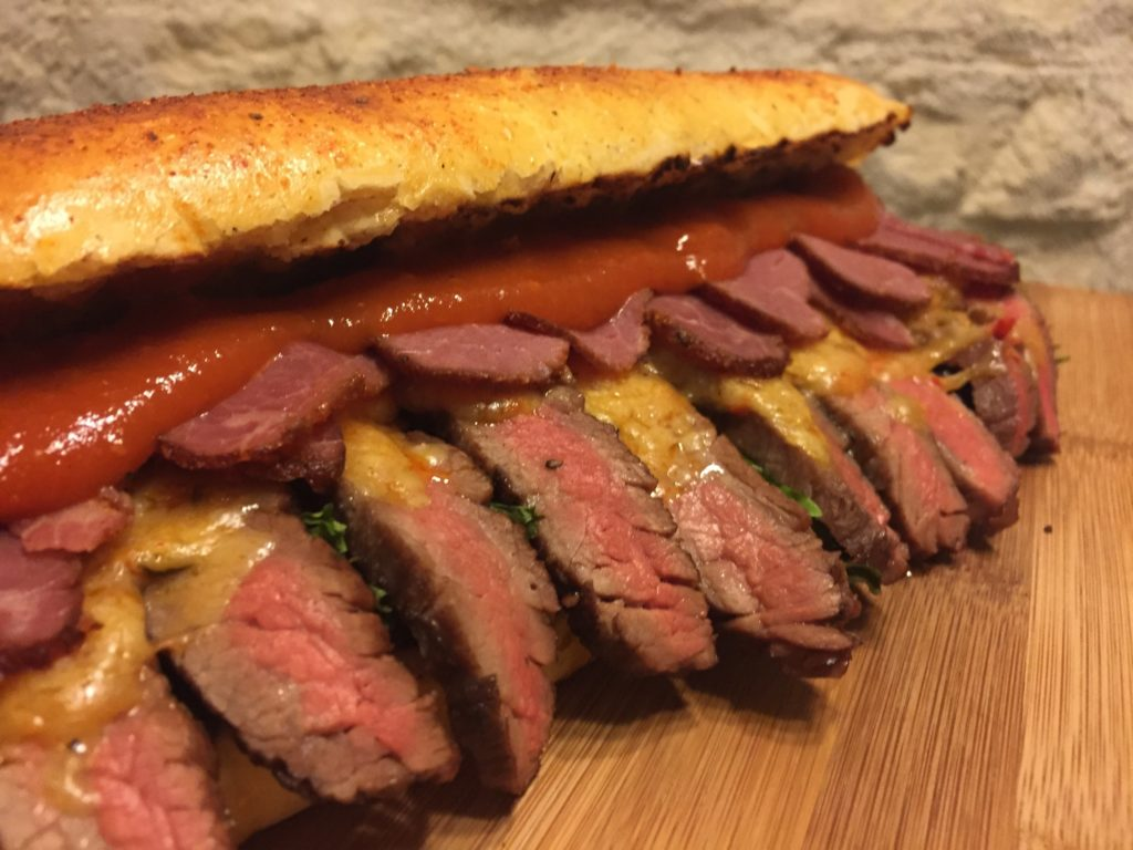 Flanksteak Sandwich