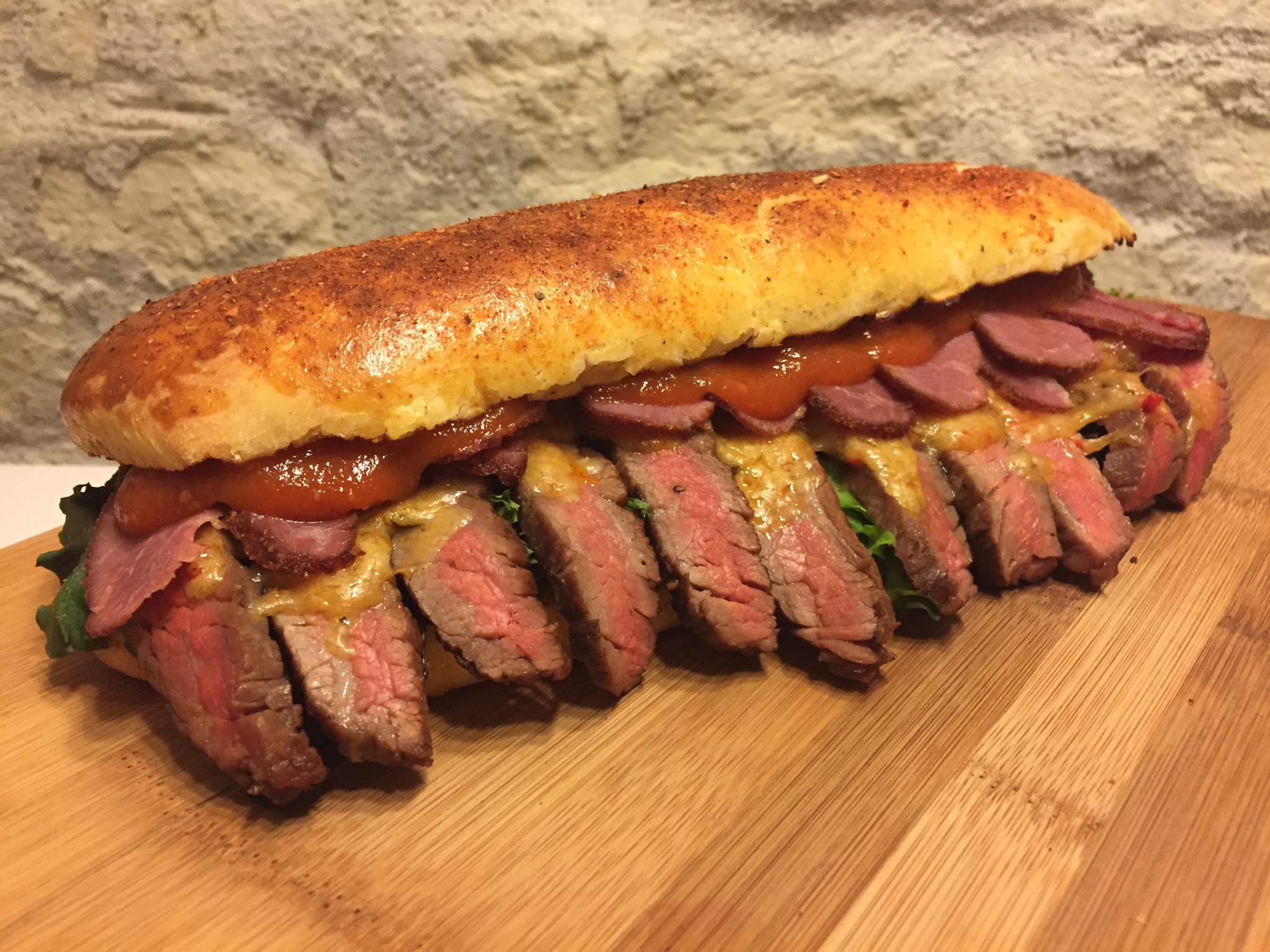Flanksteak-Sandwich-Titel