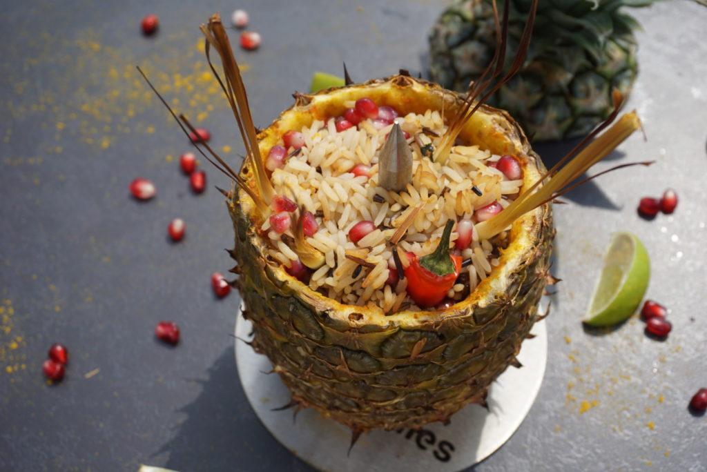 Veganer Reissalat lecker