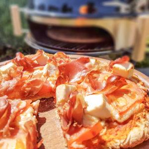 Moesta Smokin PizzaRing Parma Pizza
