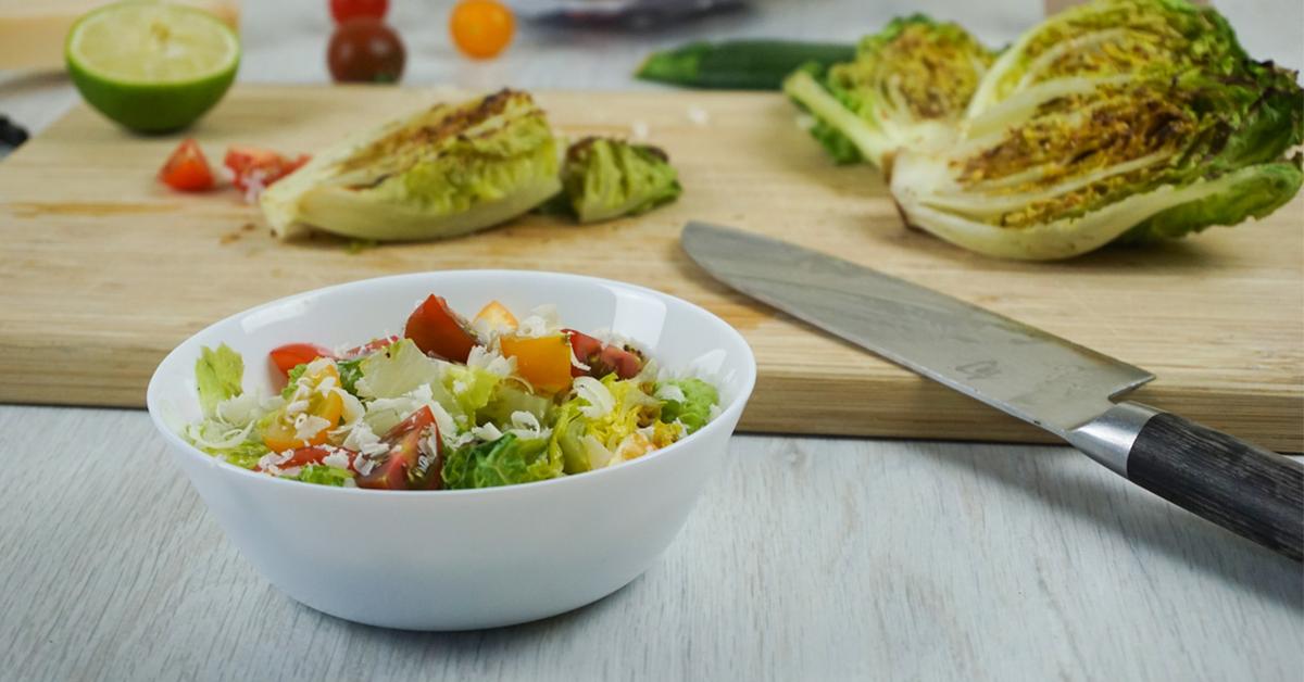 Gegrillter Salat von Onkel Kethe