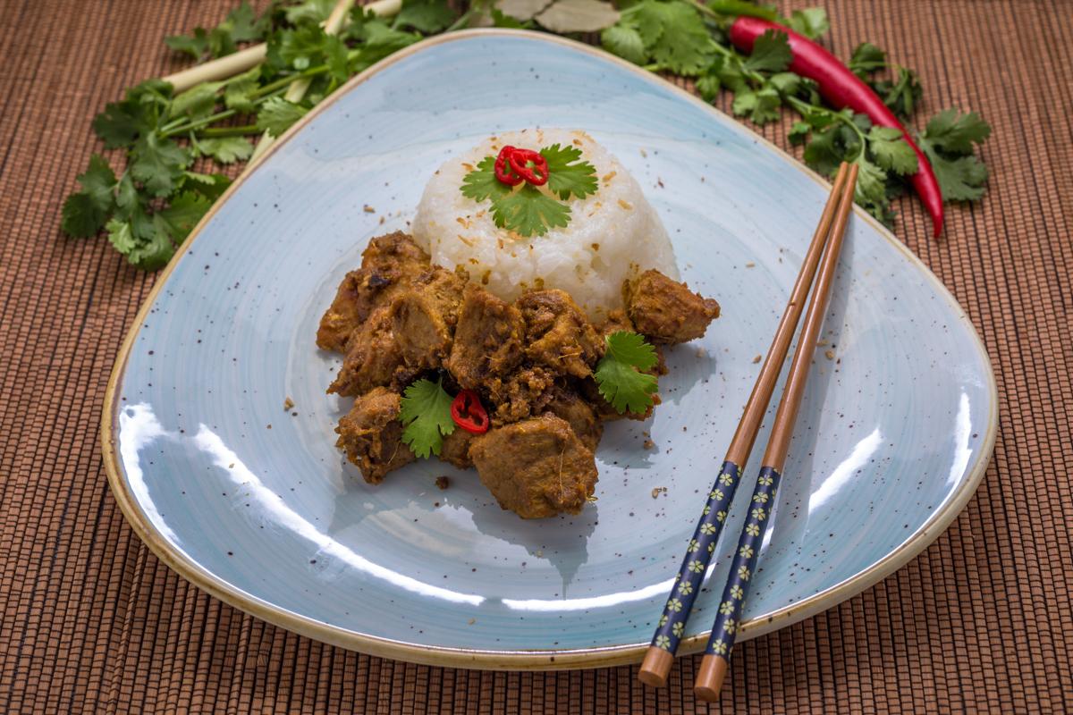 Beef Rendang - Angerichtet