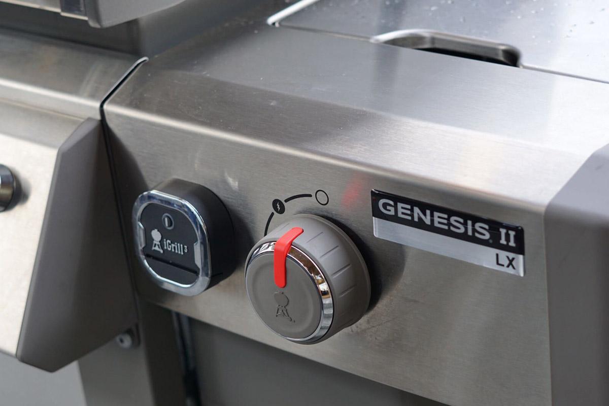 Weber Genesis ii test