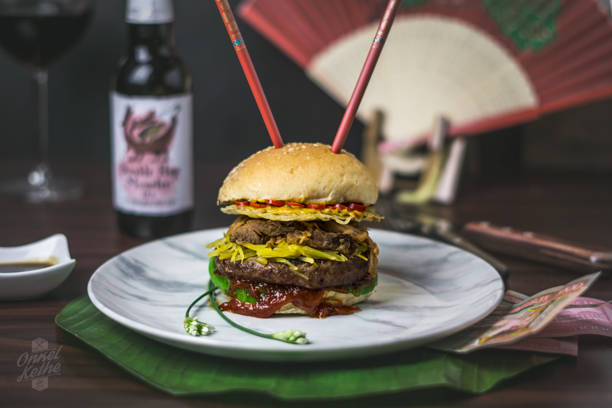 Asia Style Burger - Titelbild