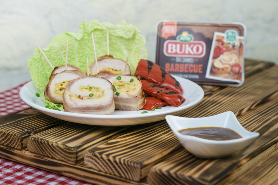 BBQ Chicken Lollies mit Buko Barbecue