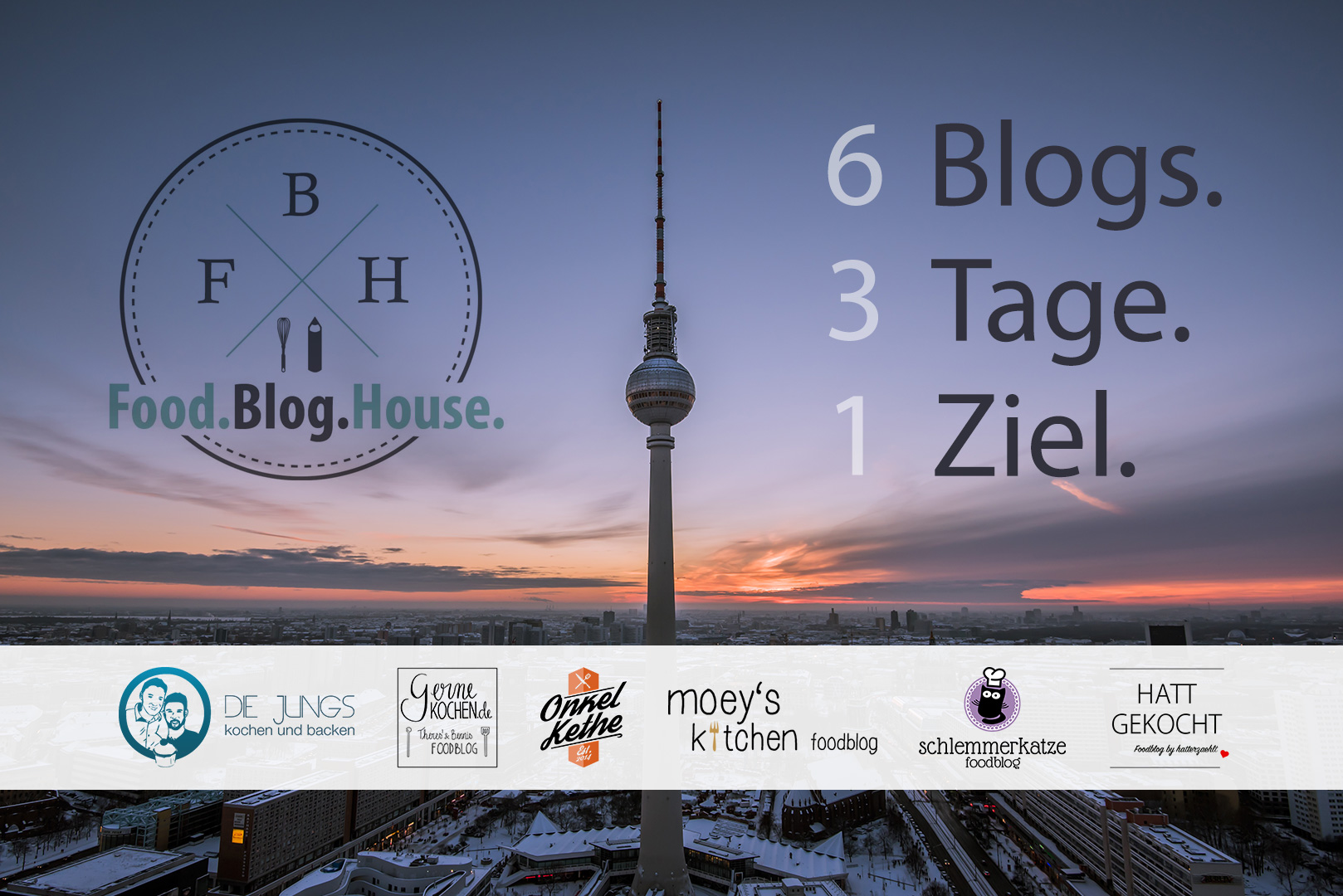 Food Blog House Titel