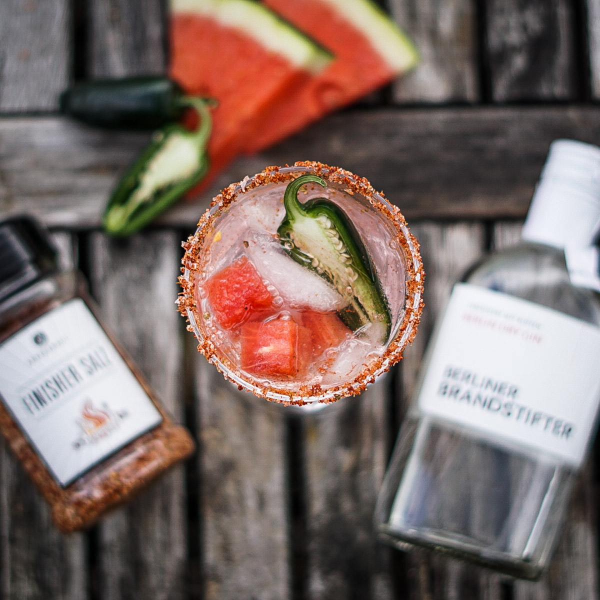 Gin Tonic Hot and Fruity