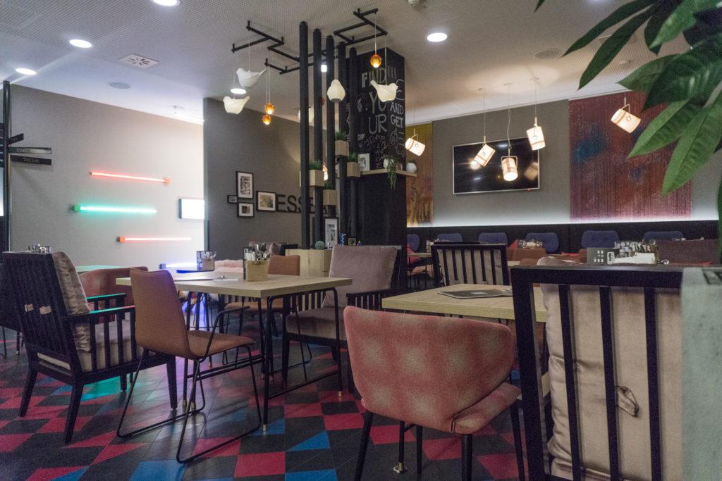 NIU Hotel Cobbles Restaurant