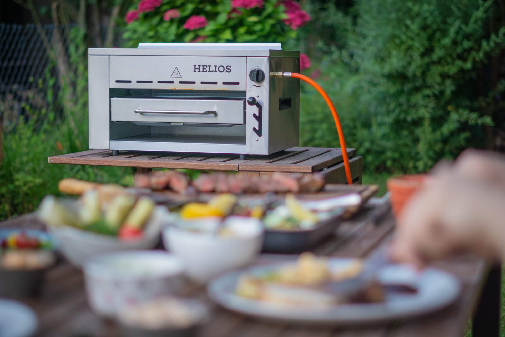 Meateor Helios im Fokus