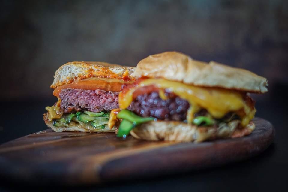 Melocchini Burger - Anschnitt