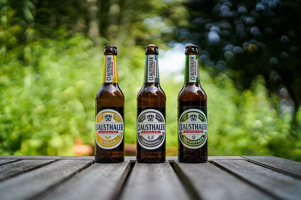 Clausthaler Alkoholfrei - die Drei