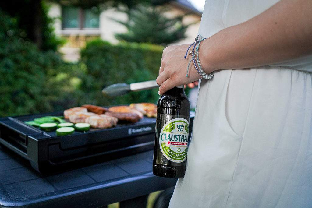 Clausthaler Alkoholfrei - am Grill